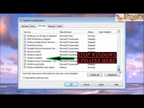 How to stop/disable Windows Automatic & Hidden updates completely.