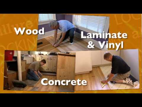 How to install Allure Easy Lock LVT Flooring