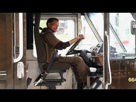 UPS Drivers Awarded for Driving Like Grandma