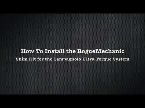 RogueMechanic UT Shim Kit Installation for Campagnolo Ultra Torque