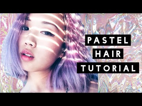 HOW TO: Pastel Hair Tutorial (Dark to Pastel)