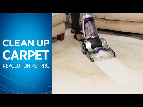 Deep Cleaning with theProHeat 2X® Revolution™ Pet Pro Carpet Cleaner | BISSELL