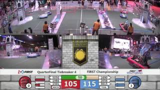 QF4M3   FIRST Championship Einstein Field