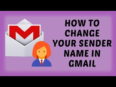 How To Change Your Sender Name In Gmail | Gmail Tutorials In Hindi
