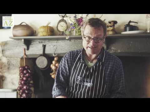 Upside-down Chocolate Plum Pudding | Hugh Fearnley-Whittingstall