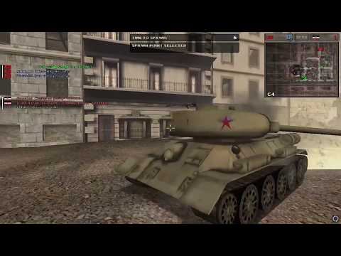 Battlefield 1942 Berlin CTF Multiplayer Gameplay