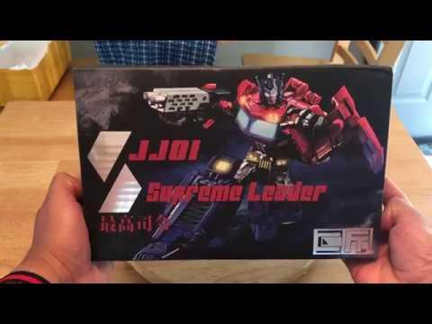JuJiang JJ01 Supreme Leader Optimus Prime UNBOXING
