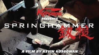 Springhammer : A documentary about Japanese Blacksmiths