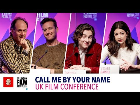 'CALL ME BY YOUR NAME' | 61st BFI London Film Festival | UK Conference