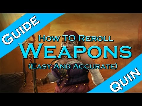 Diablo 3: How to Reroll a Weapon