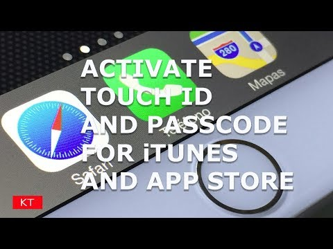 Activate touch id only for iTunes and App store for downloading or purchasing apps