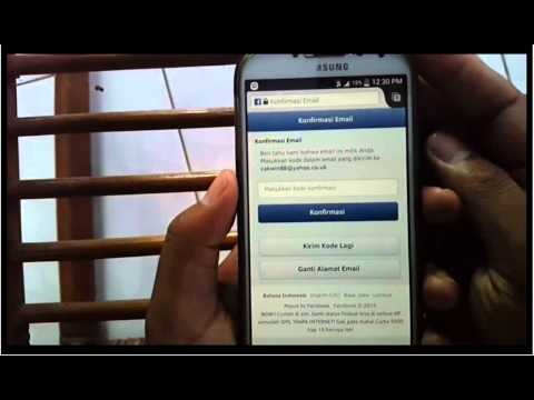 Samsung Galaxy S4 : How to Create or Sign up Facebook Account With Yahoo Mail in Android Phone