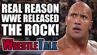 Real Reason WWE RELEASED The Rock Dwayne Johnson In 2005!
