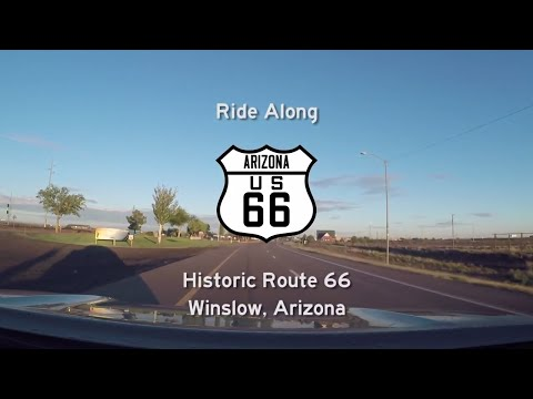 Historic Route 66 - Winslow - Arizona | Drive America's Highways 🚙