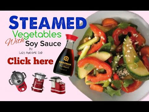 KitchenAid cook processor ARTISAN - How to Steamed Vegetables with Soy Sauce MAGIMIX Cook Expert