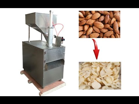Video of Almond Badam Slicing Cutting Machine|Peanut Dry Fruit Slicing Machine