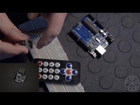 Use Infrared sensor & IR Remote control on Arduino - Tutorial