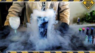 will food coloring dye liquid nitrogen