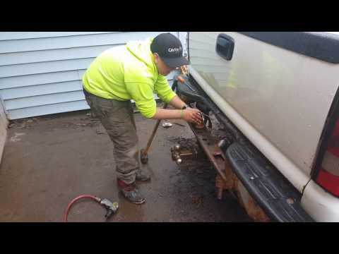 Rusty Hitch Removal