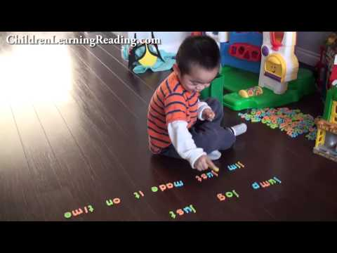 Teaching the Letter J Sound - Toddler Reading J Words