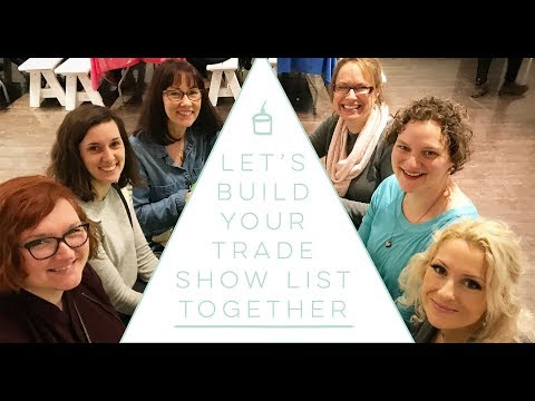 List of Trade Shows Should You Be Attending  - how to start a children's clothing or toys business