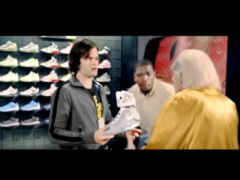 NIKE MAG Back To The Future - Commercial + DOC BROWN - Sep. 8, 2011