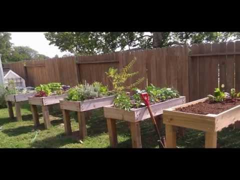 [Garden Ideas] raised garden bed
