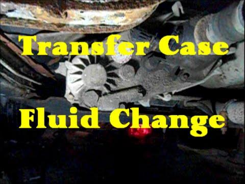 Transfer Case Drain & Fill on Jeep Cherokee XJ (NP231)