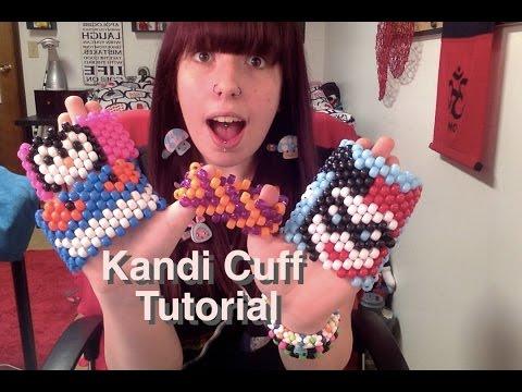 How to make a Kandi Cuff (Tutorial)