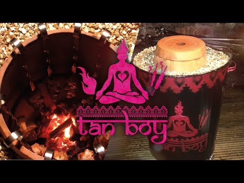 Tan Boy - How to build a DIY Tandoor Oven at home