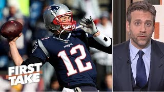 Patriots need more from Tom Brady in playoff game vs. Chargers – Max Kellerman | First Take