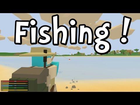 UNTURNED 3.0 - Fishing! (Gameplay / Walkthrough)