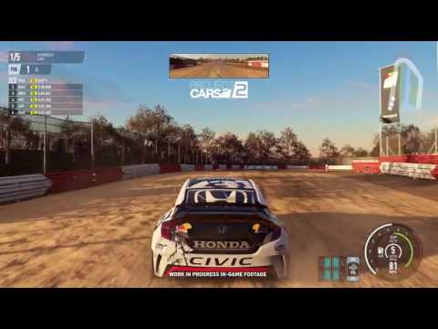 PROJECT CARS 2: EARLY GAMEPLAY FOOTAGE (Circuit, Rally Cross)
