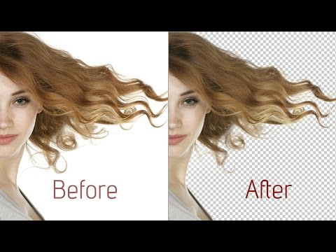 How to remove background with Photoshop CC 2015