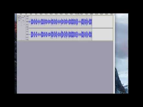 How to Make Your Podcast Intro Using Audacity Pt 1