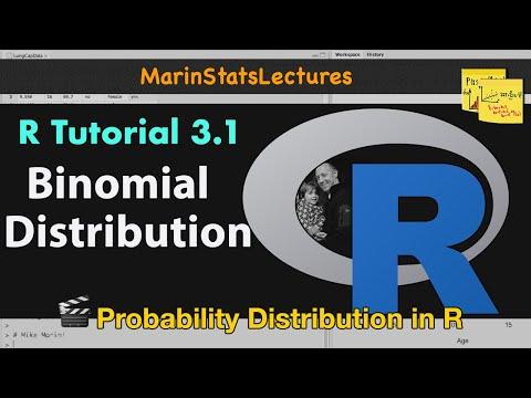 Binomial Distribution in R (R Tutorial 3.1)