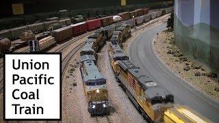 Union Pacific Coal Train - Part 1 Colorado Model Railroad Museum