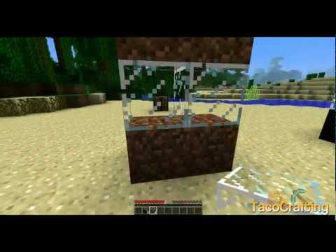 Minecraft 1.2 - Mod SpotLight: One Way Window Mod!!!