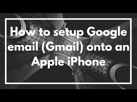 How to setup Google email (Gmail) onto an Apple iPhone | VIDEO TUTORIAL