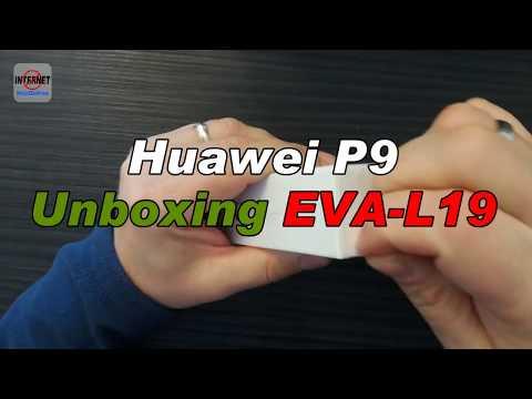 Huawei P9 EVA-L19 [Unboxing]