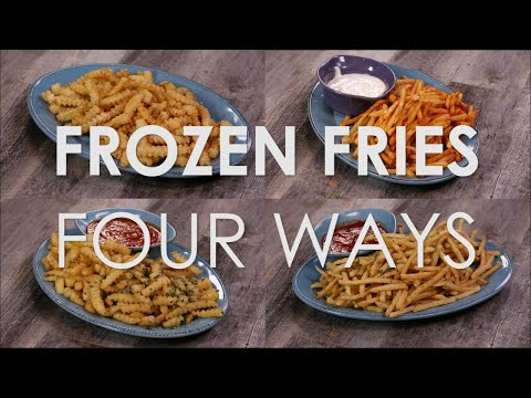 Frozen Fries 4 Ways | The Rachael Ray Show Recipes