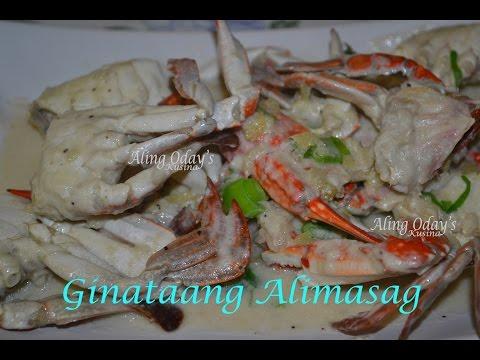 Ginataang Alimasag