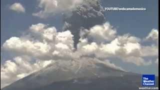 Amazing Volcano Shockwave!