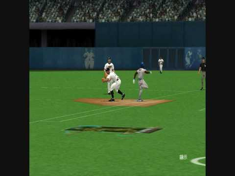 MVP Baseball 2005 Lyle Overbay Dustin McGowan 3-2-1 Double Play