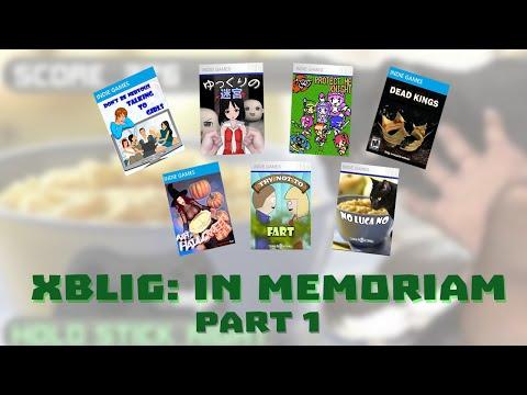 Xbox Live Indie Games: In Memoriam (Part 1/2)