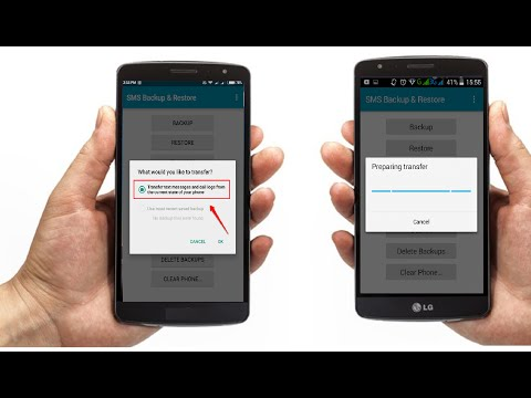 How to Transfer Call Logs & SMS from One Android Phone to Other
