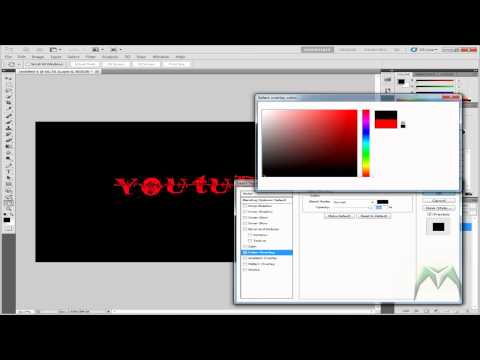 How To Make A Transparent .PNG File With Photoshop CS5 or CS