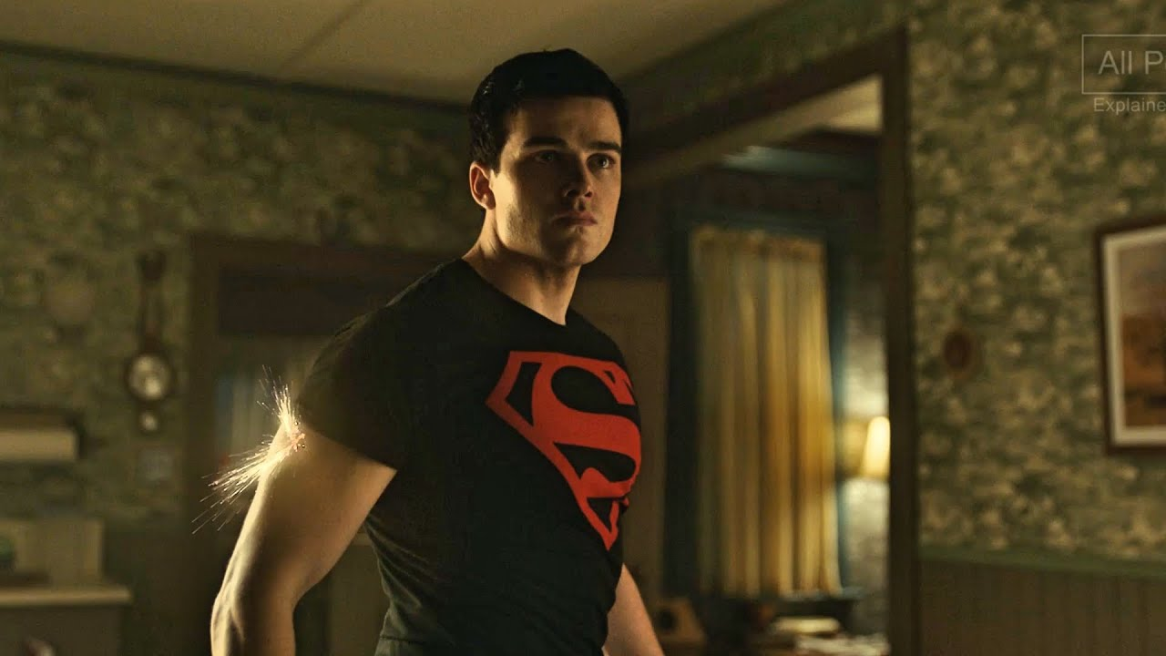 Superboy- All Powers from Titans