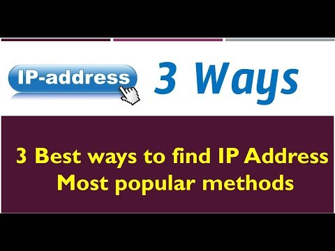 How to find your IP address in 3 best ways & What is my IP - Windows 10 & 8.1 Minecraft IP Address -