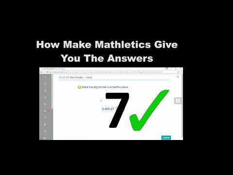 How To Make Mathletics Give You The Answers